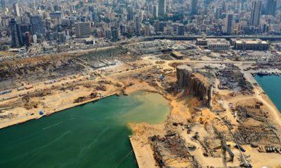Explosion à Beyrouth : un cratère de 43 mètres de profondeur