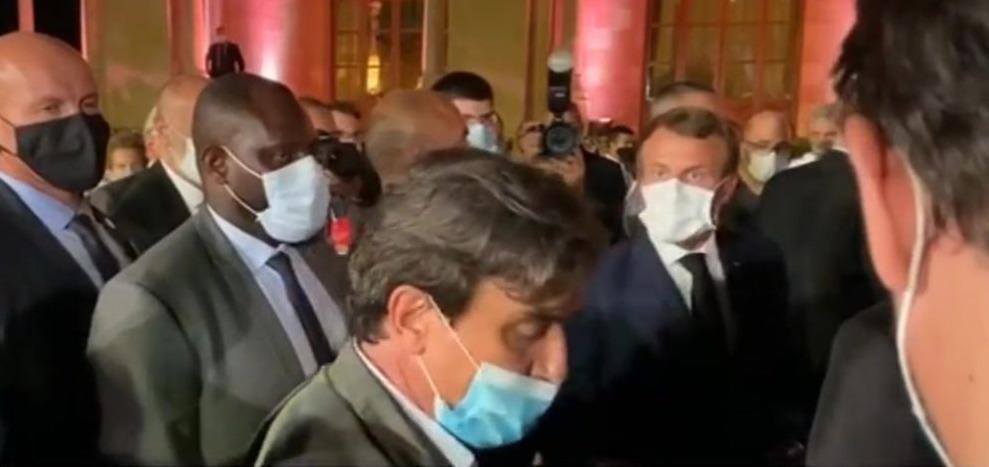 Macron s'emporte contre un journaliste du Figaro pour un article sur le Liban