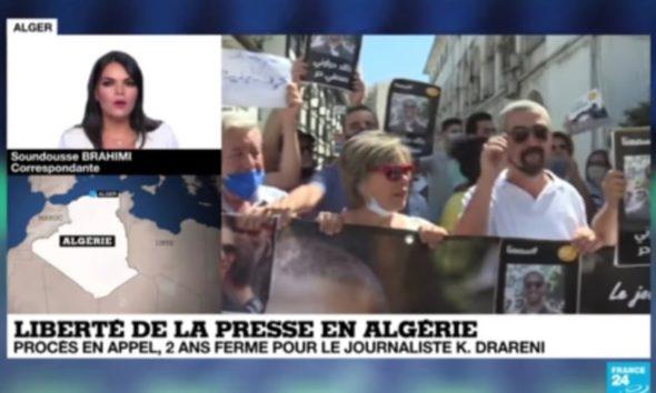 Le comité pour la libération de Khaled Drareni interpelle France 24