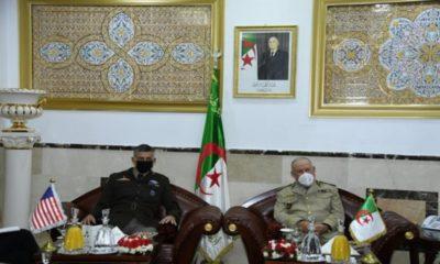 ANP : le général Chengriha reçoit le commandant de l'Africom