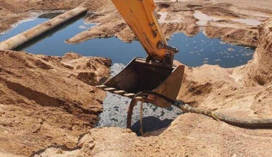 Fuite de pétrole de l'oléoduc OK1 à El Oued : les décisions de Sonatrach