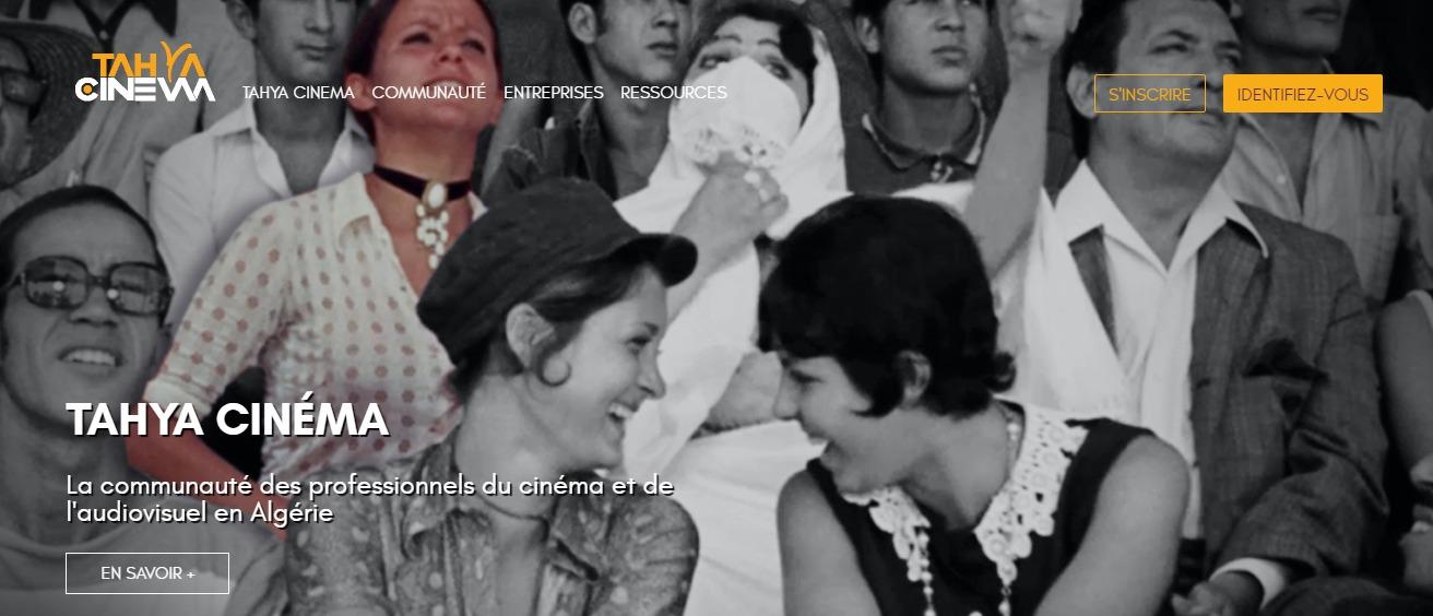 """""""Tahya Cinéma"""", une plateforme pour faciliter la production et le financement de films"""