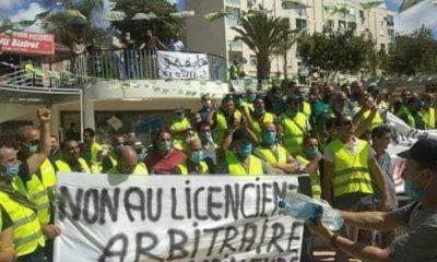Travailleurs licenciés de Numilog : l'Ugta de Béjaïa passe à l'action