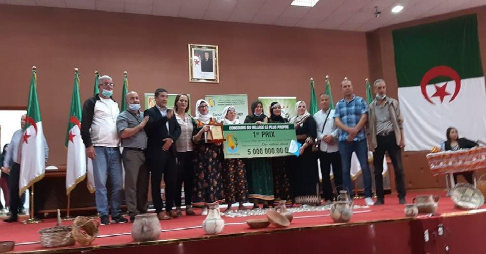 Béjaïa : remise des prix aux villages et quartiers les plus propres