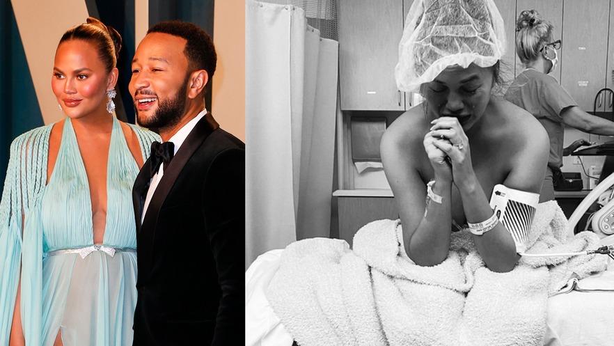 Chrissy Teigen et John Legend annoncent la mort de leur bébé