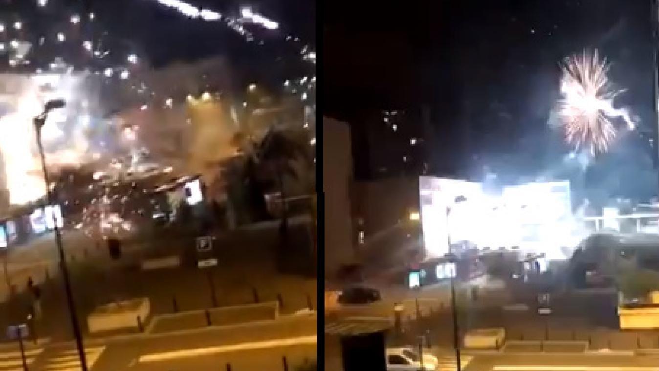 France : un commissariat de police attaqué au mortier d'artifice