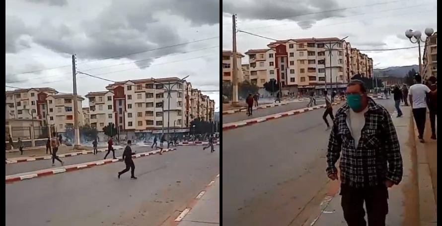 Hirak : la police réprime la marche de M'chedallah (Imcheddalen) à Bouira