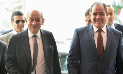 Jean-Yves Le Drian en visite de travail en Algérie jeudi et vendredi
