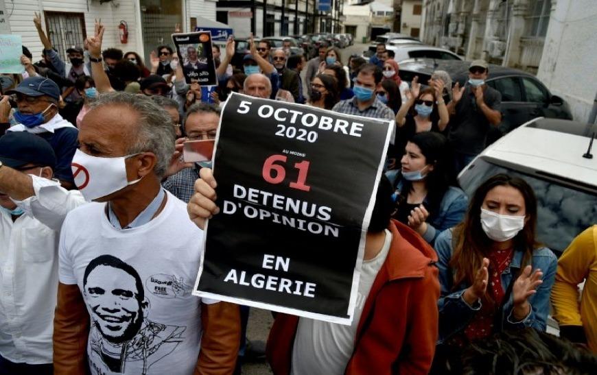 5 octobre 2020 : manifestations à Alger et plusieurs arrestations