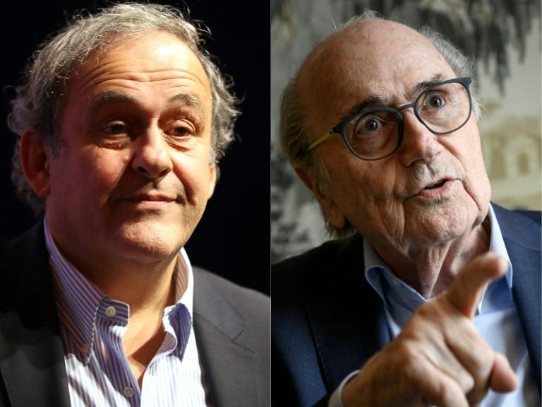 Platini et Blatter