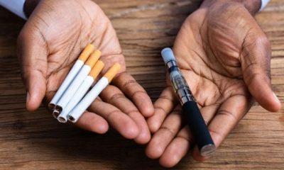 e-cigarette et tabac classique