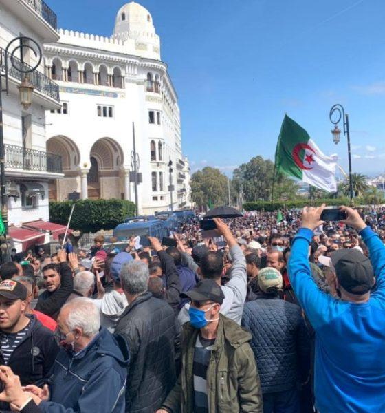 Manifestation hirak Alger